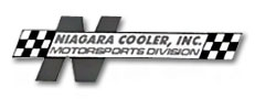 plate type engine coolers for stock cars